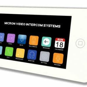 Micron 7″ Touch Screen Intercom