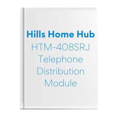 HTM-408SRJ Telephone Distribution Module