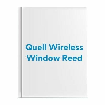 Quell Wireless Window Reed