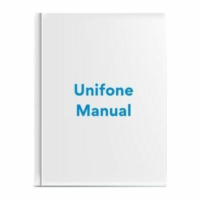 Unifone Manual